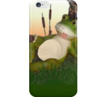 Frog and the Snail iPhone Case/Skin