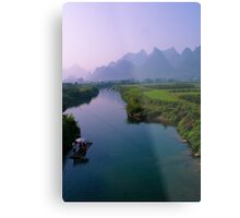 Fantacy on China Yulong River Metal Print