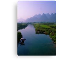 Fantacy on China Yulong River Canvas Print