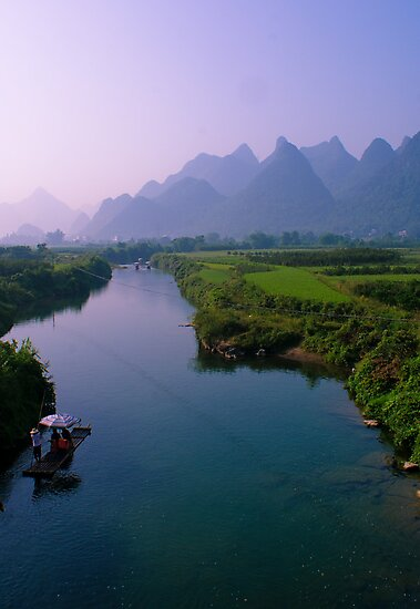 Fantacy on China Yulong River by sweetriver