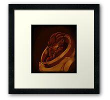 Garrus Vakarian Palette Challenge Framed Print