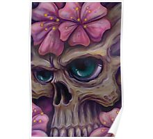 girly skull  Poster