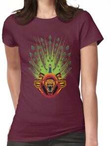 Reog Ponorogo Womens Fitted T-Shirt