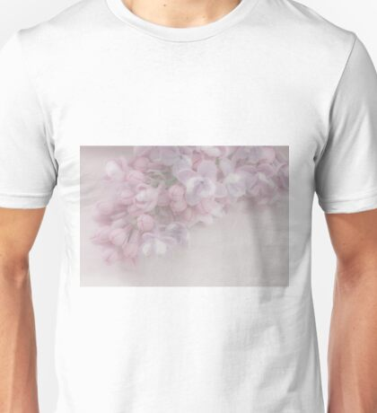 Oh So Gentle - Lilac Sprig Macro Unisex T-Shirt