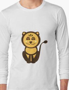 Leo Vector Illustration Long Sleeve T-Shirt
