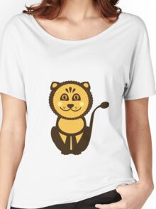 Leo Vector Illustration Women's Relaxed Fit T-Shirt