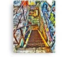 This Way To The Exit Canvas Print