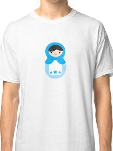 Blue Matryoshka Doll Classic T-Shirt