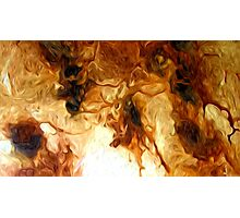 Abstract Colors Oil Painting #77 Photographic Print