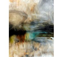 Abstract Colors Oil Painting #74 Photographic Print