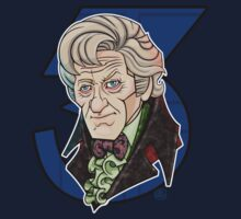 The Third Doctor by RoguePlanets