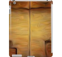 Abstract Wall Oil Painting iPad Case/Skin