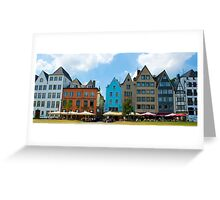 Classical Architecture - Cologne Germany Greeting Card