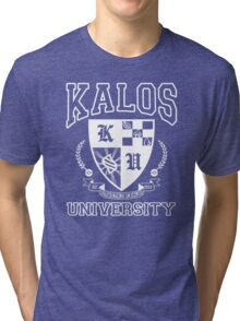 Kalos University Tri-blend T-Shirt