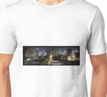 Night Cityscape Oil Painting Unisex T-Shirt
