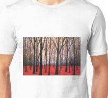 Abstract Trees Oil Painting #5 Unisex T-Shirt