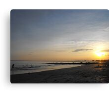 Roger Wheeler State Beach Canvas Print