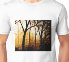Abstract Trees Oil Painting #7 Unisex T-Shirt