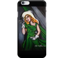 Photographer in Green iPhone Case/Skin