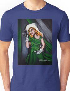 Photographer in Green Unisex T-Shirt