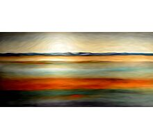 Abstract Colors Oil Painting # 15 Photographic Print