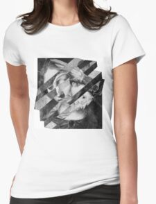Portrait of a Woman with Child. Womens Fitted T-Shirt