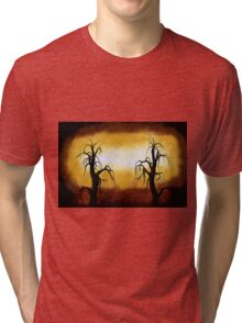 Abstract Trees Oil Painting #10 Tri-blend T-Shirt