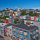 St John's In Living Colour by Brian Carey
