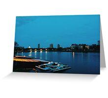 Cambridge, MA // B_Landscapes Greeting Card