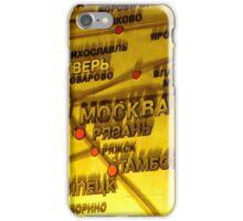 Railway Map iPhone Case/Skin