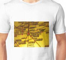 Railway Map Unisex T-Shirt