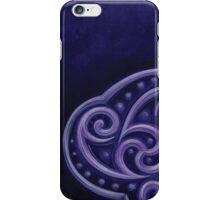 purple triquetra  iPhone Case/Skin