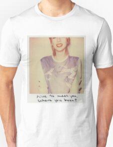 Taylor Swift 1989 Blank Space Polaroid T-Shirt