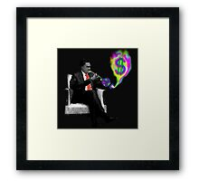 Politician's music Framed Print
