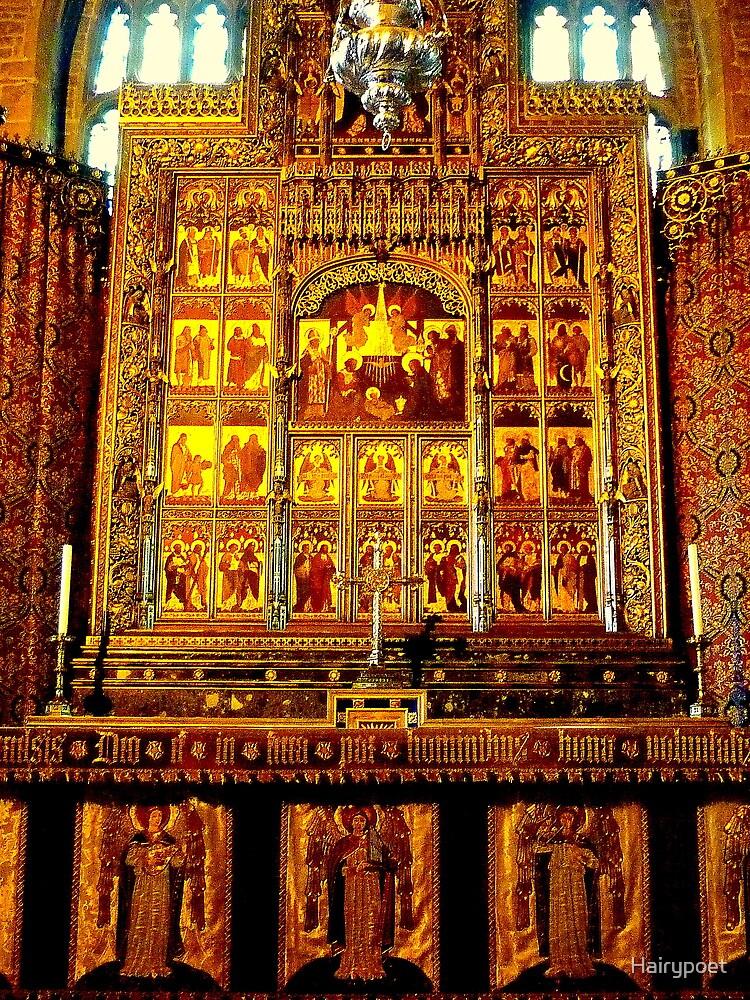 Altar - St. Matthews Church, Grantham by Hairypoet