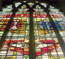 Window - at St. Matthews in Grantham by Hairypoet