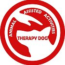 ANIMAL Assisted Activities  - THERAPY DOG logo 4 by SofiaYoushi