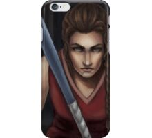 The Field Hockey Player iPhone Case/Skin