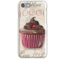 Patisserie Chocolate Cupcake iPhone Case/Skin