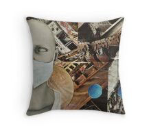 13th Hour Throw Pillow