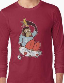 banana grab Long Sleeve T-Shirt