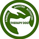 ANIMAL Assisted Activities  - THERAPY DOG logo 5 by SofiaYoushi