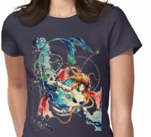 Mermaid Torture in Chains Womens Fitted T-Shirt