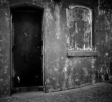 dirty doorway by Jenny Miller