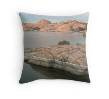 Into the Water Throw Pillow