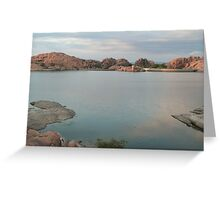 Willow Lake Dam Greeting Card