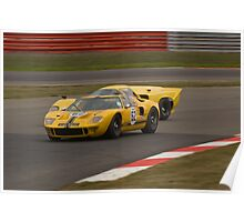 Ford GT40 (Ulrich/Voegele) Poster
