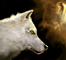 Wolf Profile 3-B by beonarri