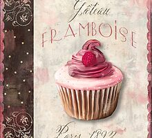 Patisserie Raspberry Cupcake by mindydidit