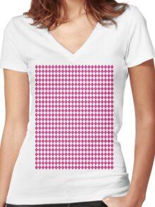 Eckhart's Cube #4 Women's Fitted V-Neck T-Shirt